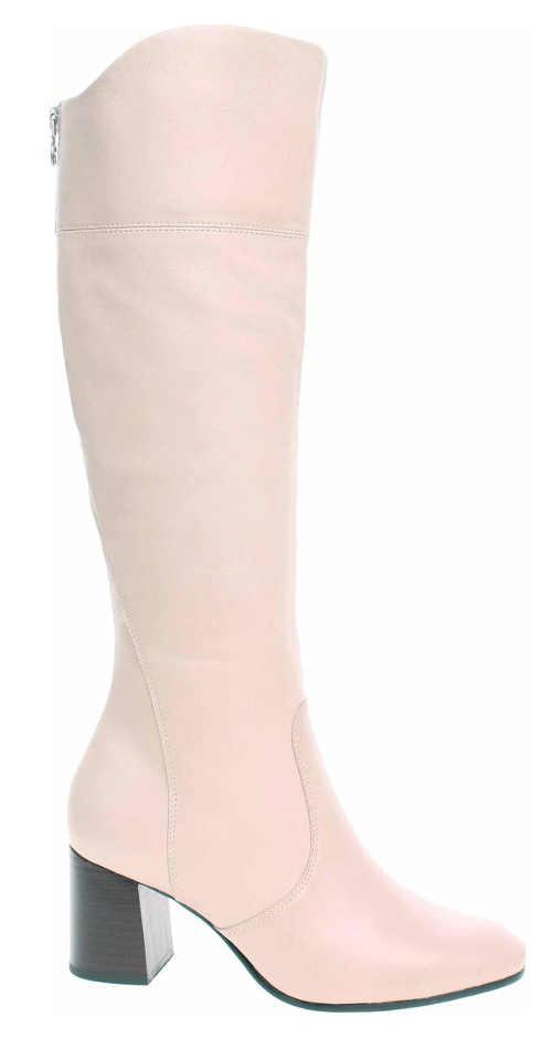 Svetlo ružové dámske čižmy Tamaris 1-25515-25 Ivory