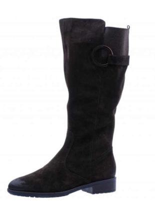 Dámske kožené vysoké topánky na chladnejšie dni