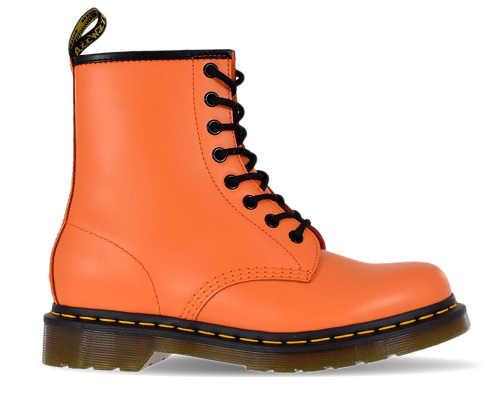 """Dámy """"Martensky"""" v oranžovej farbe"""