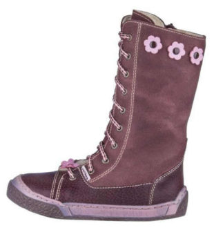 Detské kožené zimné topánky PEGRES