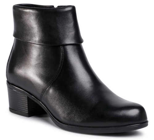 Čierne dámske topánky Lasocki z prírodnej kože