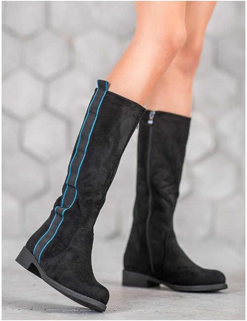 Dámske topánky s lemom
