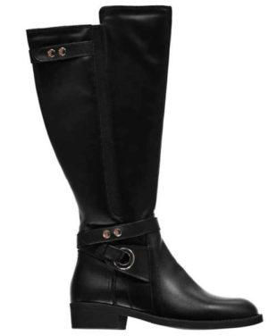 Štýlové vysoké topánky vhodné pre širšie lýtka