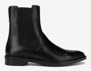 Čierne dámske zimné členkové topánky Vagabond