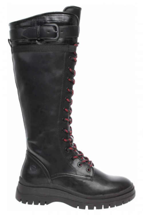 Dámske štýlové vysoké topánky Tamaris