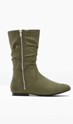 Spodná časť topánok na zips s modernými popruhmi